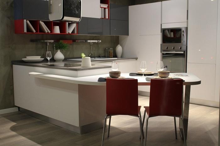 Moderní malé kuchyně